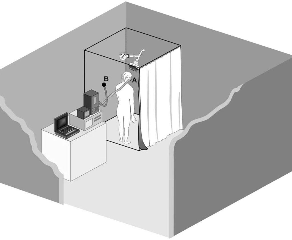 test doccia legionella vapore